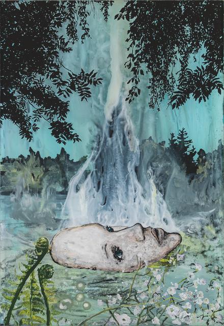 , 'Vom Mädchen im See,' 2017, Galerie Tore Suessbier
