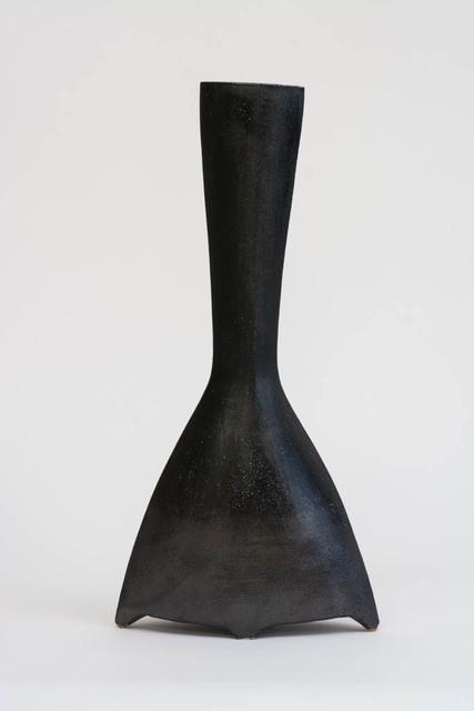 , 'Sculptural Vase (dark blue saltglaze),' 2000, Nathalie Karg Gallery