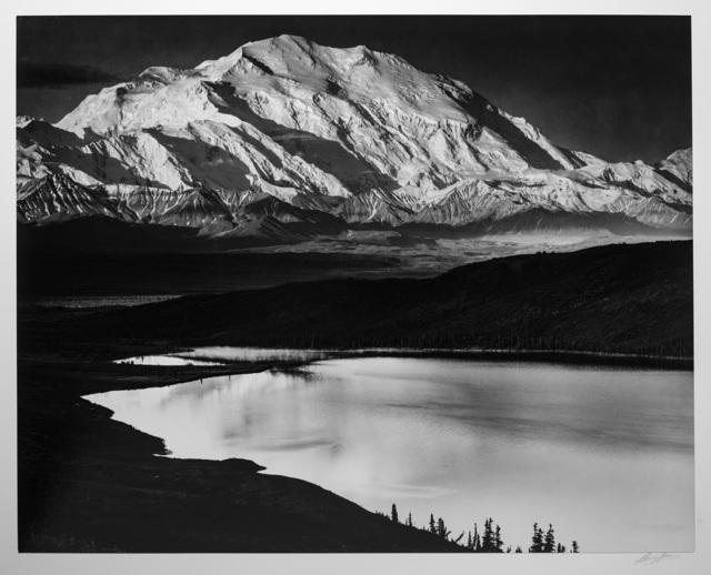 , 'Mt. McKinley and Wonder Lake, Mt. McKinley National Park, Alaska,' ca. 1947, Photography West Gallery