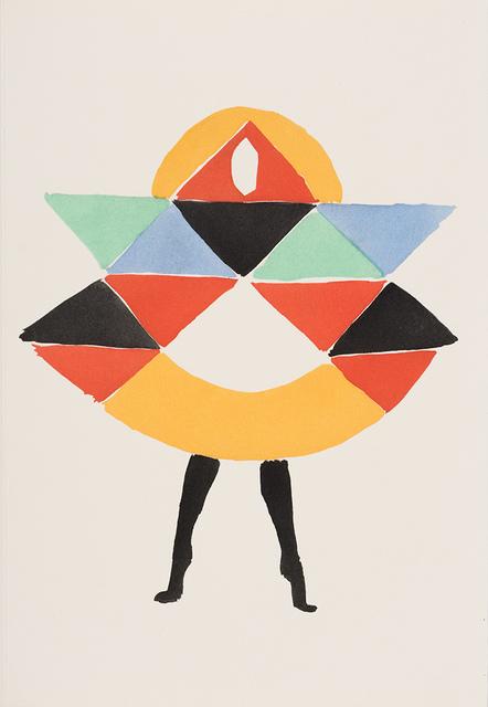 Sonia Delaunay, '27 Tableaux Vivants', 1969, Doyle
