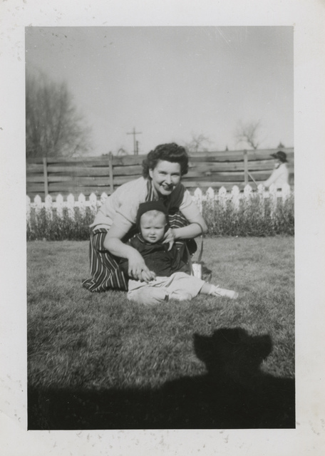, 'Untitled [Shadow, mother and baby in the grass],' , Fraenkel Gallery
