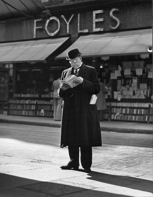 , 'Foyles, Charing Cross Road, London,' 1937, The Photographers' Gallery