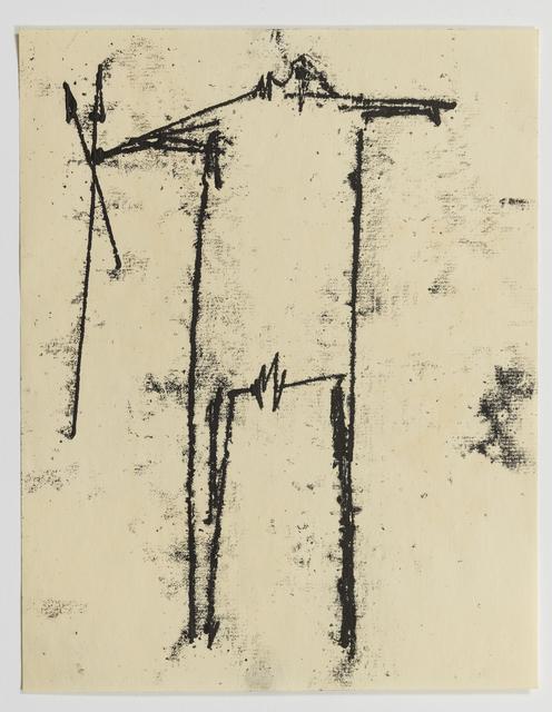 , 'Warrior,' 1953-1954, Annely Juda Fine Art