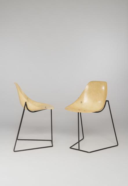 René-Jean Caillette, 'Pair of Coccinelle chairs', 1957, Galerie Pascal Cuisinier