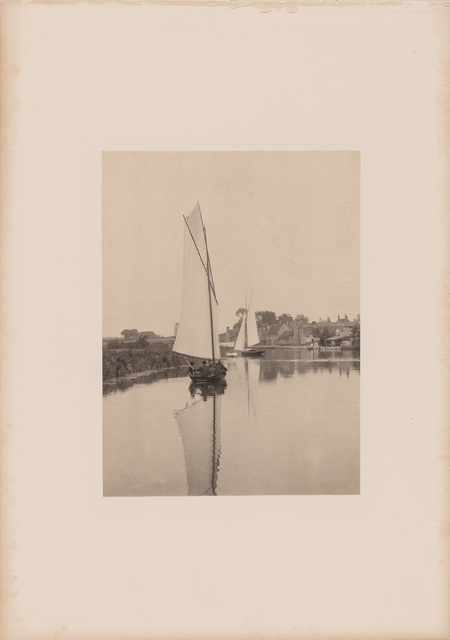 Peter Henry Emerson, 'The village of Horning', 1886, Doyle
