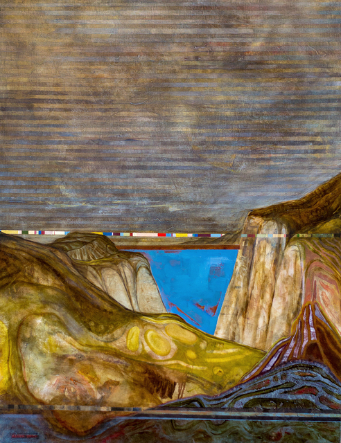 , 'Noumenal Landscape: Coastal Color Band,' 2012-2014, Untitled 2.0