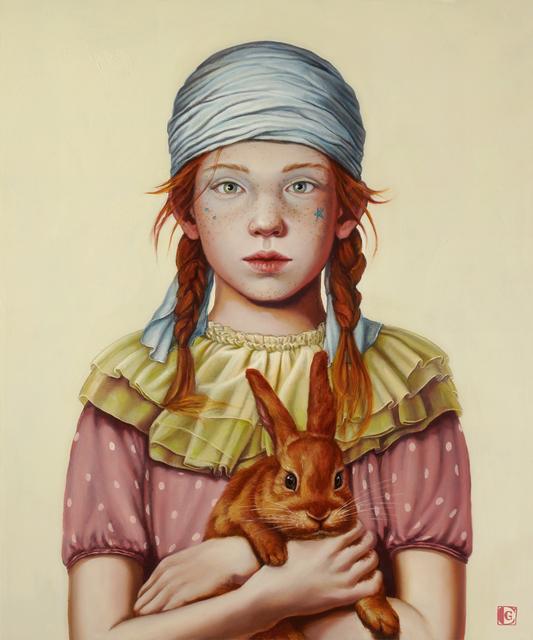 Claudia Giraudo, 'Segui il coniglio rosso', 2018, Galleria Punto Sull'Arte