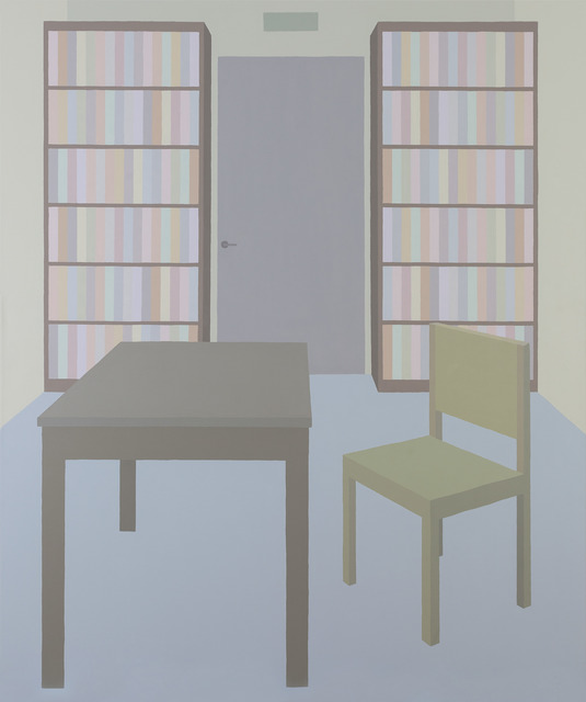, 'Library #11,' 2018, Inda Gallery