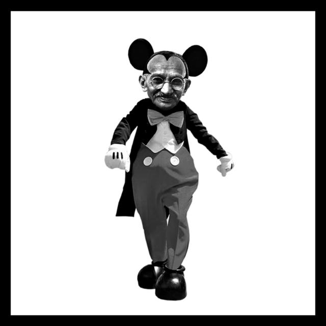 , 'Mahatma Mouse,' 2014, The McLoughlin Gallery