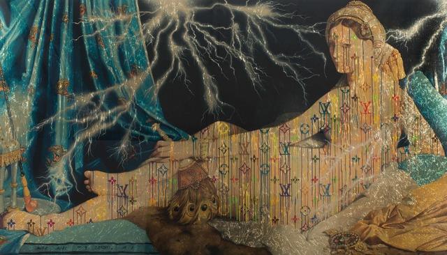 , 'Illaminated Jean Auguste Dominique Ingres, Grand Odalisque ,' 2015, De Buck Gallery
