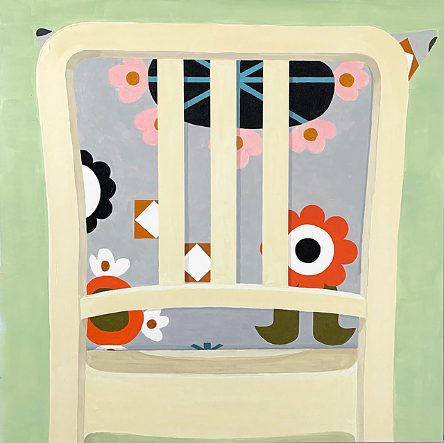 Sydney Licht, 'Chair and Pillow', 2019, Kathryn Markel Fine Arts
