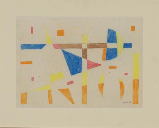 , 'Untitled (Composicion Concreta),' ca. 1958, AREVALO
