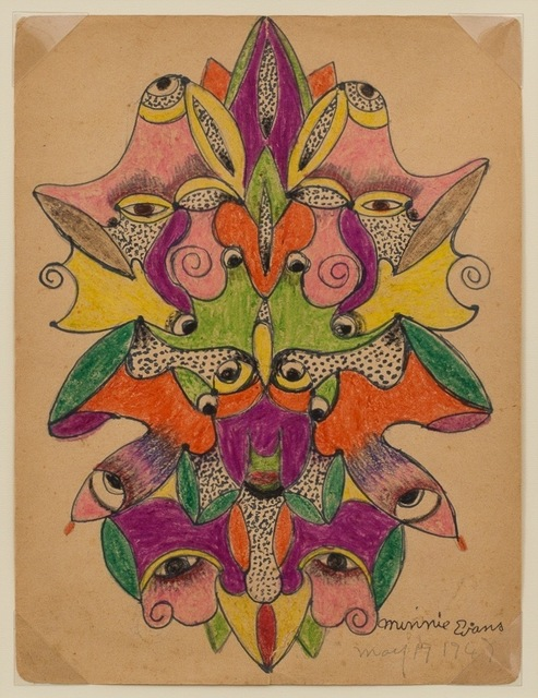 , 'Unititled (Faces) ,' 1947, ZQ Art Gallery