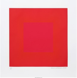 Richard Anuszkiewicz, 'Summer Suite (Red with Gold IV),' 1979, Heritage Auctions: Valentine's Day Prints & Multiples