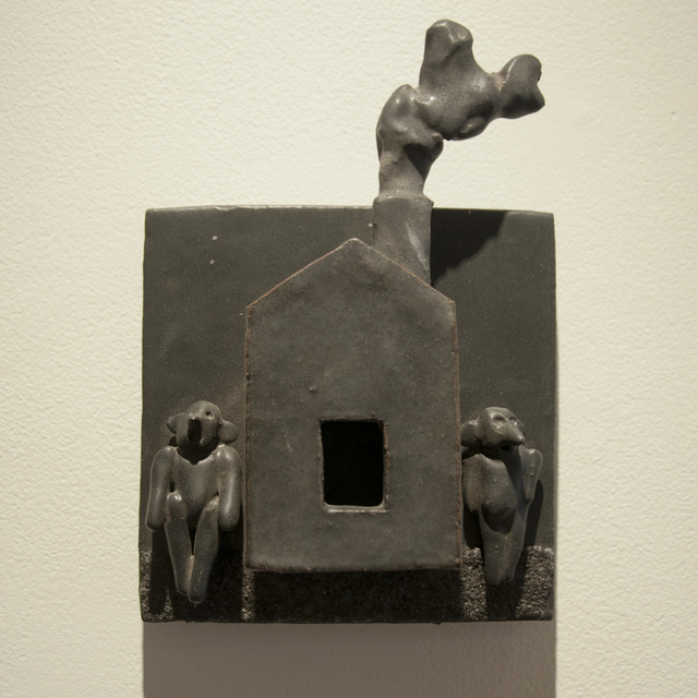 , 'Home for the Holidays (tile),' 2010, Main Street Arts