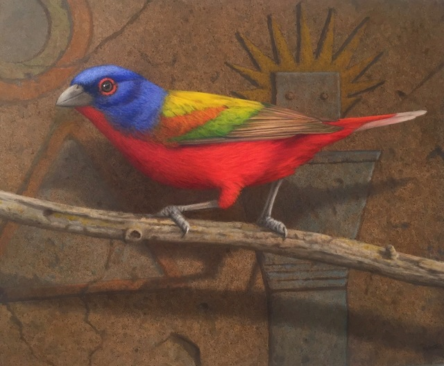 Tom Palmore, 'Painted Bunting', 2016, J. Cacciola Gallery