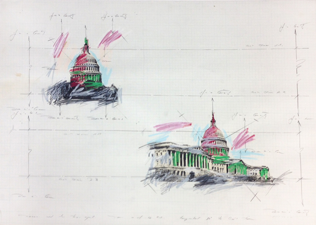 , 'United States Capitol Dome Study #1,' , Octavia Art Gallery