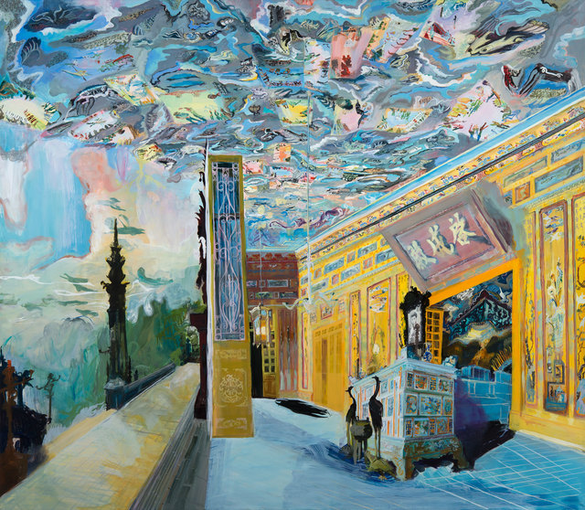 , 'Khai Dinh Peace Ceiling,' 2016, Locks Gallery