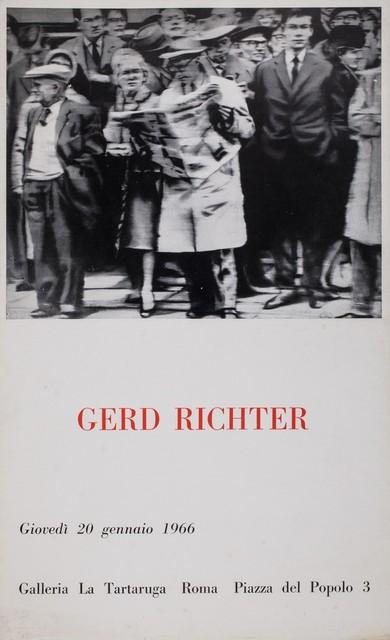 Gerhard Richter, 'Gerd Richter', 1966, Finarte
