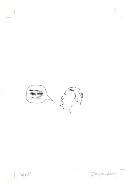 Douglas Kolk, 'mad', 1993, A3 Arndt Art Agency