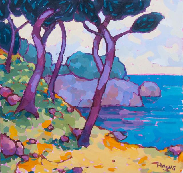 , 'Across the Cove (Point Lobos, CA),' 2019, Ventana Fine Art