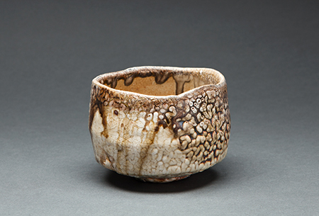 , 'Tea bowl, anagama natural ash and shino glazes,' , Pucker Gallery