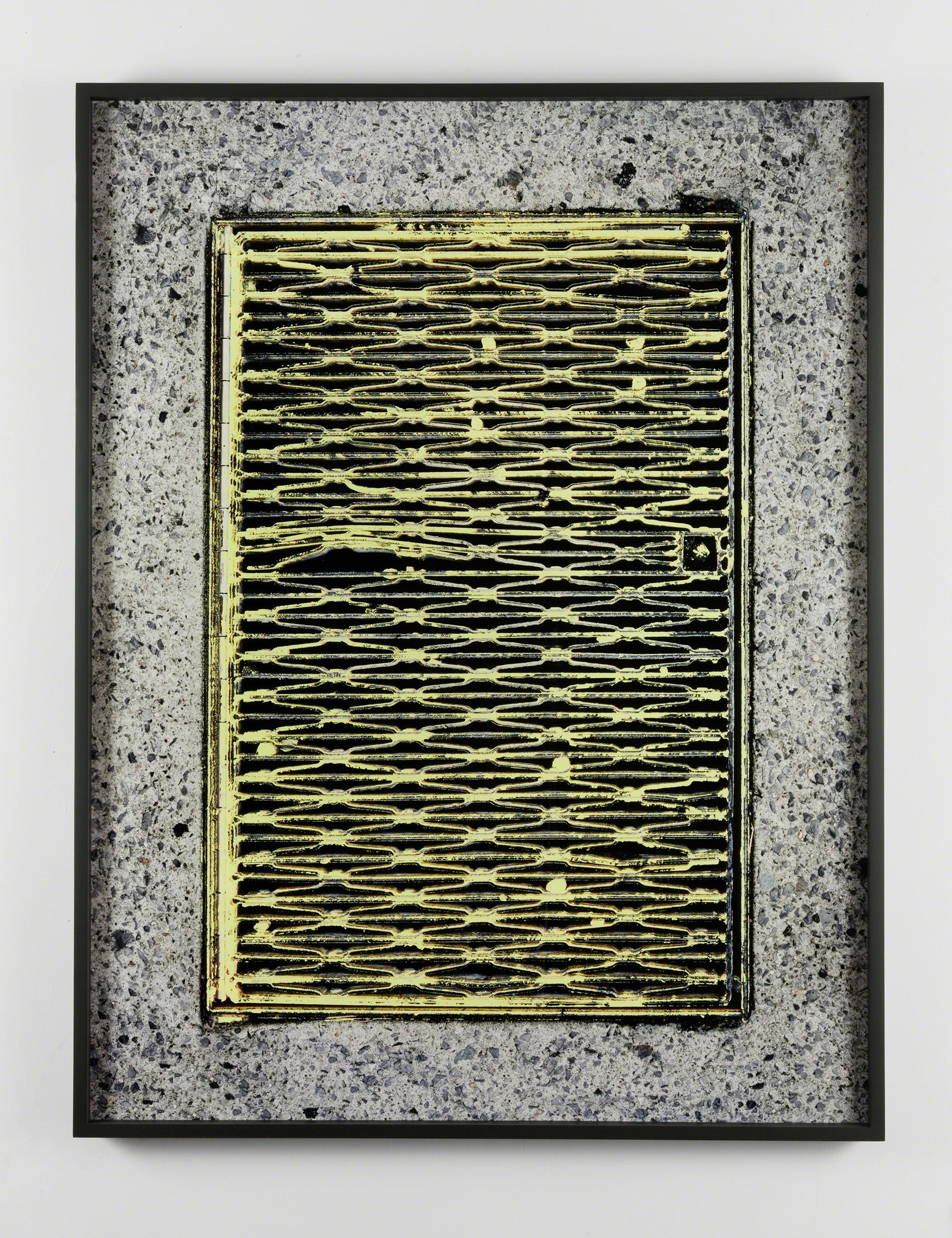 , 'Yellow Grate,' 2014, Altman Siegel