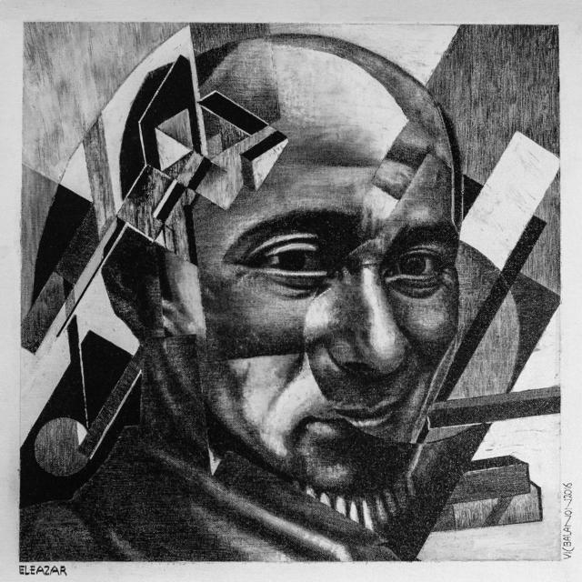 , 'Eleazar,' 2016, Mind Set Art Center