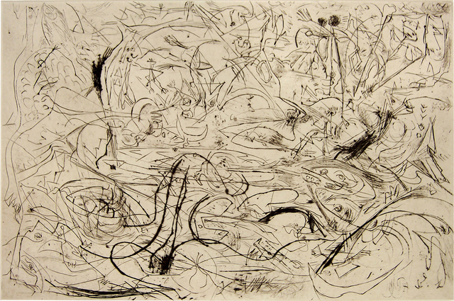 Jackson Pollock, 'Untitled, 1082 (P19)', Washburn Gallery