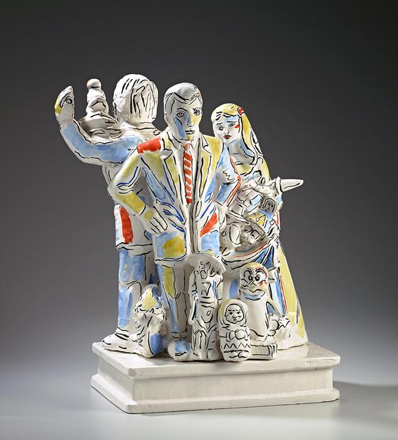 "Viola Frey, '""Untitled (W) Woman in Long Dress"" ', 1995, James Harris Gallery"
