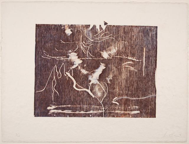 Helen Frankenthaler, 'The Clearing', 1991, Print, Woodcut, Zane Bennett Contemporary Art