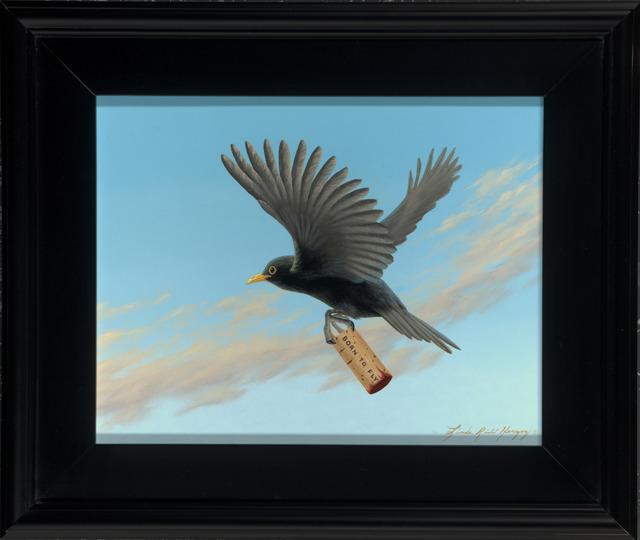 , 'Fly Blackbird Fly,' Contemporary, ÆRENA Galleries and Gardens