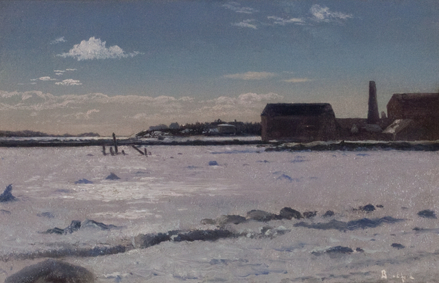 , 'Fairhaven Harbor (Old Tack Works Wharf),' , Questroyal Fine Art