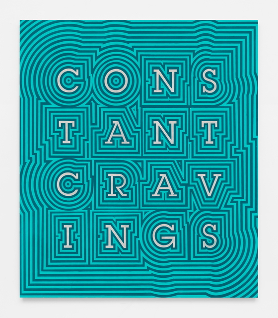 , 'Constant Cravings (Blue Throb),' 2017, Gavlak