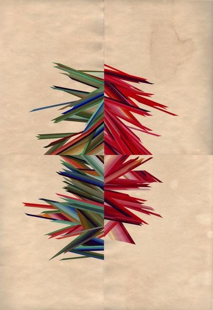 , 'Chaos,' 2014, Muriel Guépin Gallery