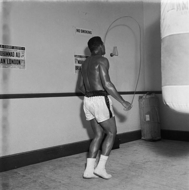 , 'Mohammed Ali preparing his fight against Brian London (Trainer Angelo Dundee and coach, Eddie Futch), Earls Court, London, August 1966,' 2019, Galerie Clémentine de la Féronnière