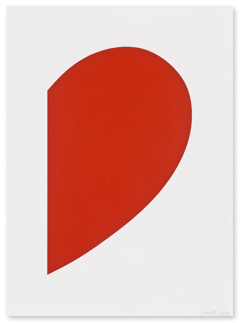 , 'Red Curve,' 2013, Gemini G.E.L. at Joni Moisant Weyl