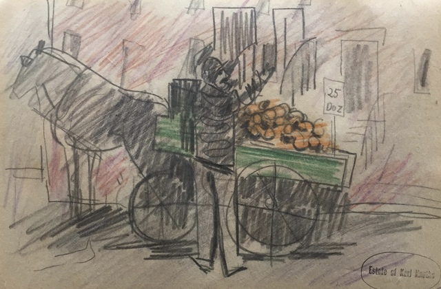 Karl Knaths, 'Fruit Peddler', 1922, Bakker Gallery