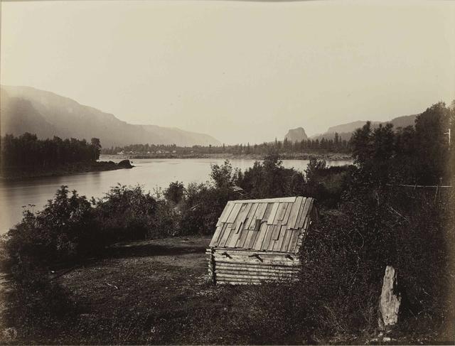 , 'The Garrison, Columbia River,' ca. 1867, Hans P Kraus Jr. Fine Photographs