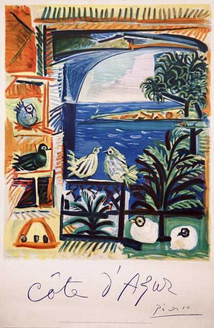 Pablo Picasso, 'Cote d'Azur', 1962, Zuleika Gallery