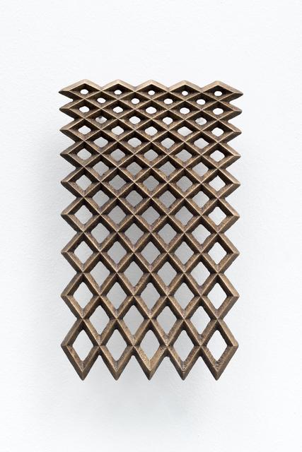 , 'Cascade (Bronze),' 2018, WHATIFTHEWORLD
