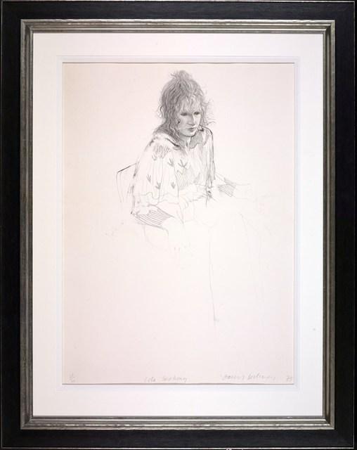 , 'Celia Smoking,' 1973, Tanya Baxter Contemporary
