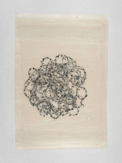 , 'Stacheldraht 1,' 2017, Zilberman Gallery
