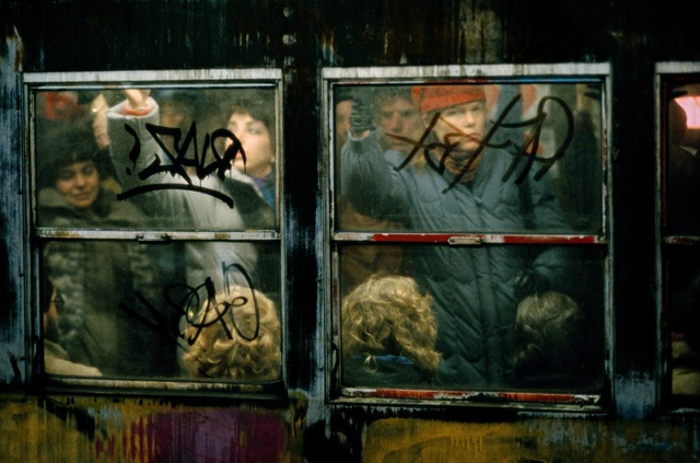 , 'Subway at rush-hour, New York,' 1982, GALLERY FIFTY ONE
