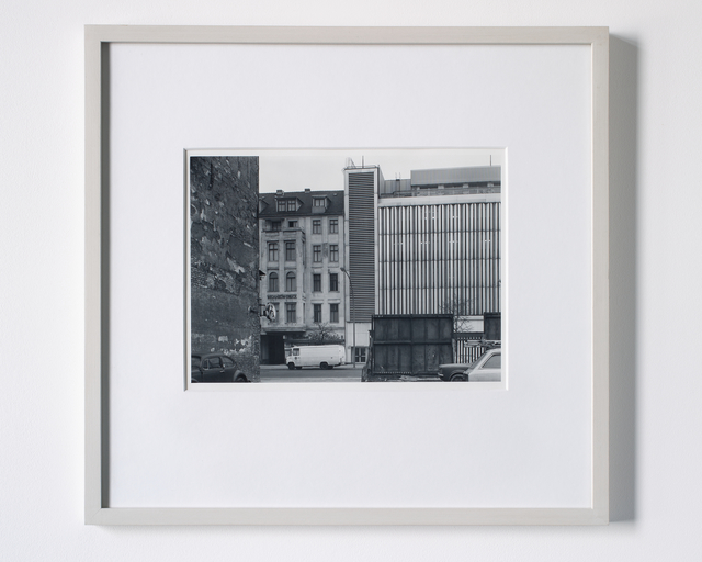 Michael Schmidt, 'Untitled (from Berlin Wedding)', 1976-1978, Photography, Gelatin silver bromide print, toned gold, framed by the artist, Galerie Nordenhake