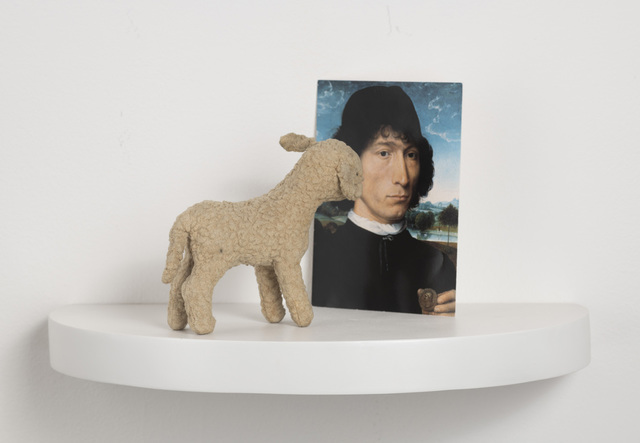 , 'Situation with Memling's Portrait of a Man,' 2012, Carrie Secrist Gallery