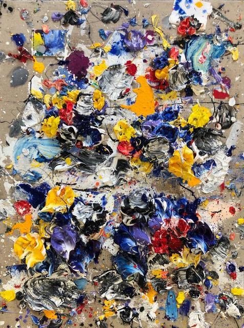 , 'Yellow X,' 2019, Aurora Vigil-Escalera Art Gallery