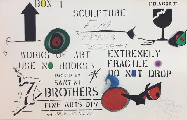 , 'Embalaje,' 1975, Artgráfico