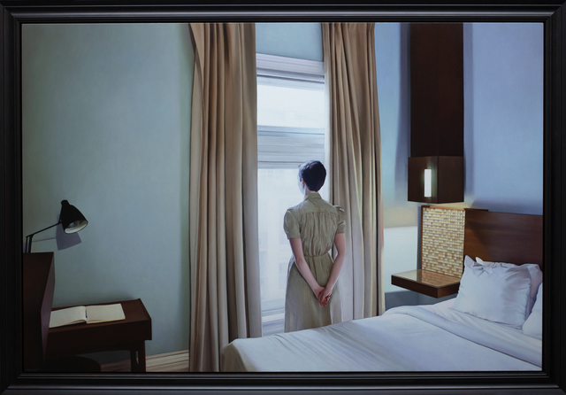 , 'The Writer at the Window,' 2018, ARCADIA CONTEMPORARY