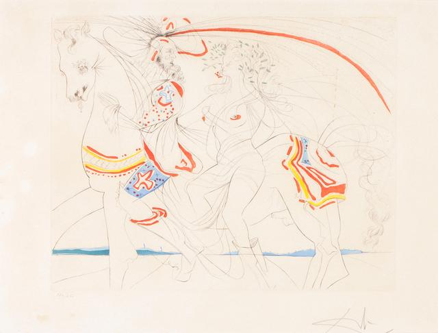 "Salvador Dalí, '""Diane de Poitiers""', 1977, Veritas"